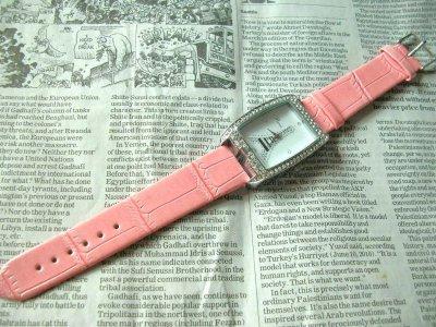 画像2: エッフェル塔腕時計