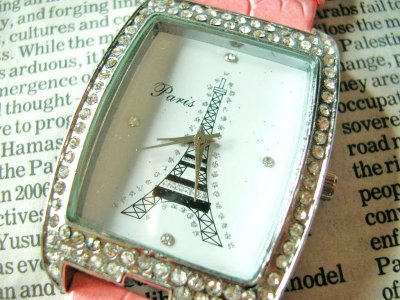 画像1: エッフェル塔腕時計