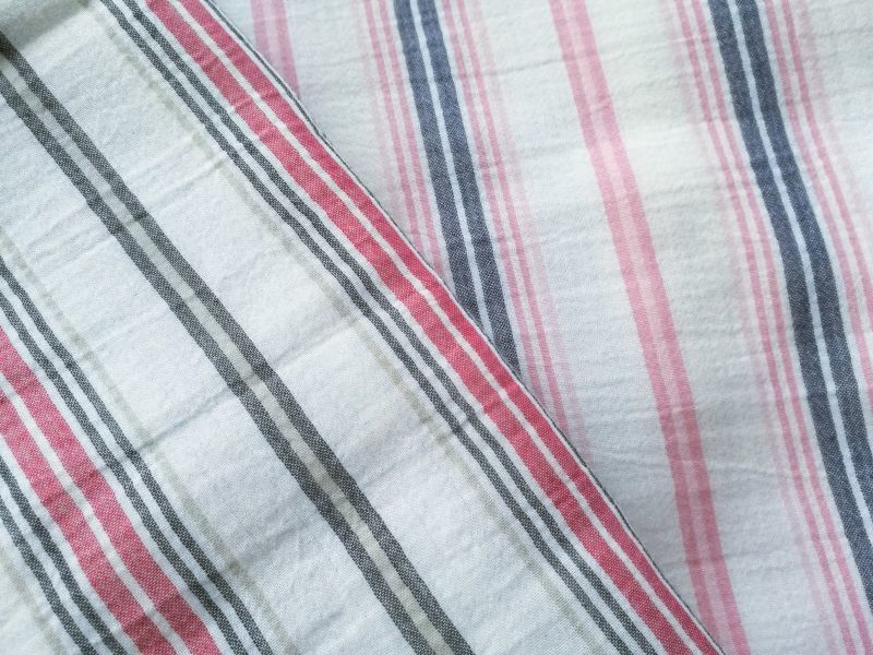 画像1: Stripe be.exclu【Wガーゼ】